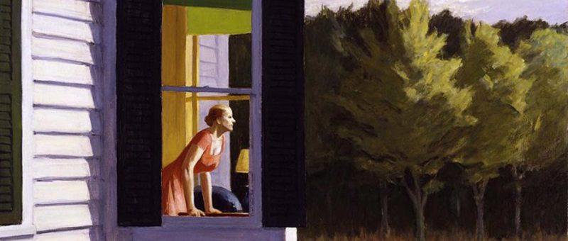 Il pittore del silenzio Edward Hopper, Cape Cod Morning, 1950, Smithsonian American Art Museum.